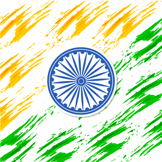 Abstract Indian Flag Background With Ashok Chakra Flag Of India India Independence Day Flag Of India Abstract Background Png And Vector With Transparent Back Flag Background Indian Flag Abstract Backgrounds