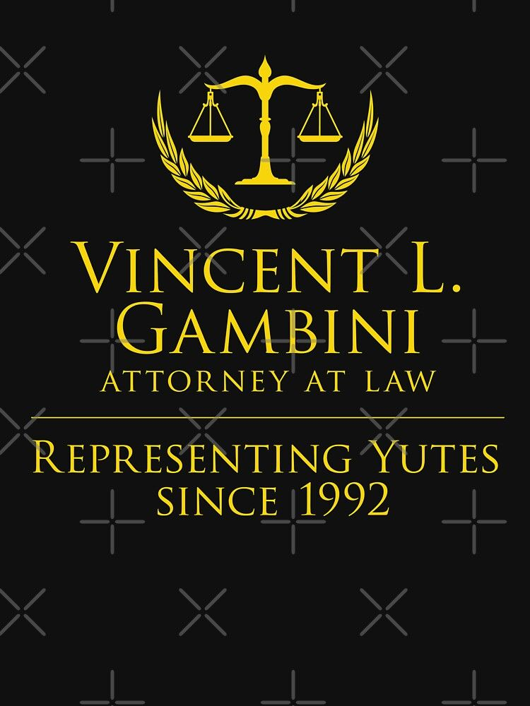 Vincent Gambini Gift Representing Yutes Fan Gift My Cousin Vinny Law Office Of Vincent Gambini Essential T Shirt By Bkls Vincent Gambini My Cousin Tshirt Colors