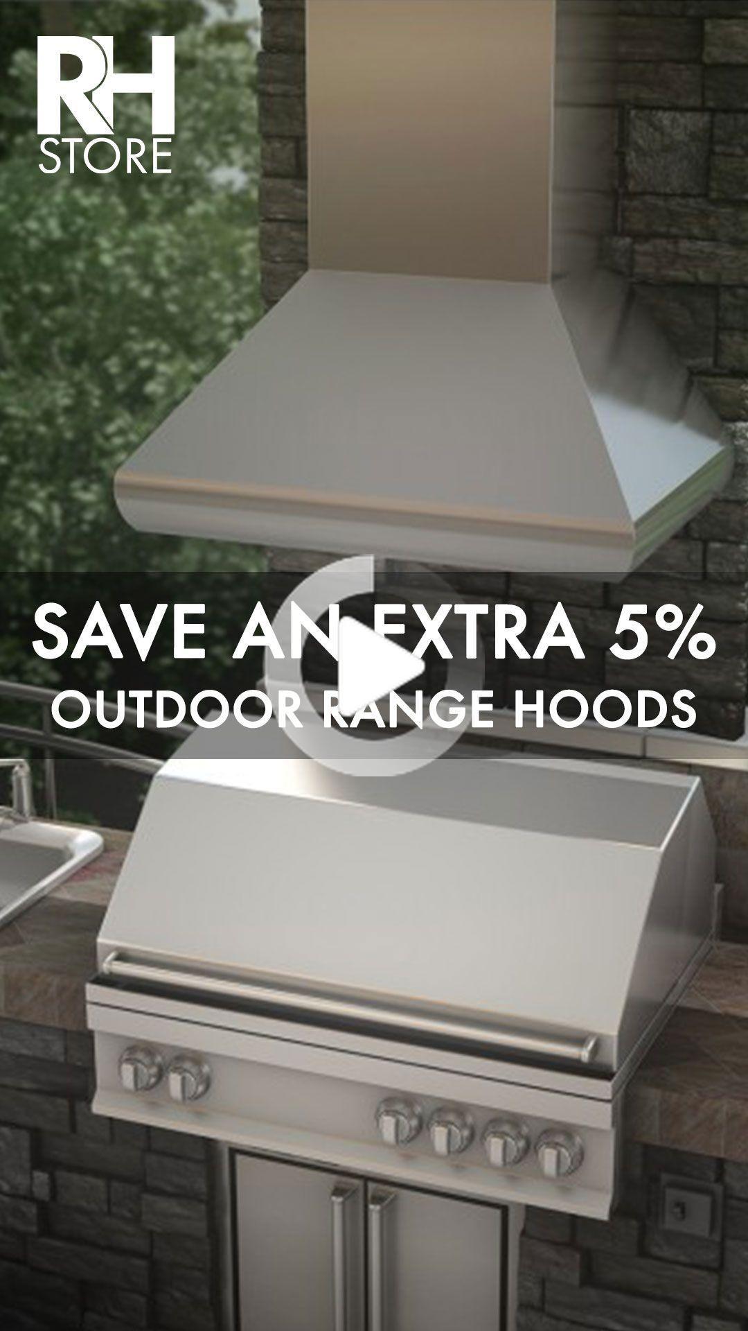 5 De Reduction Exterieure Hottes Outdoor Range Hood Outdoor Range Range Hoods