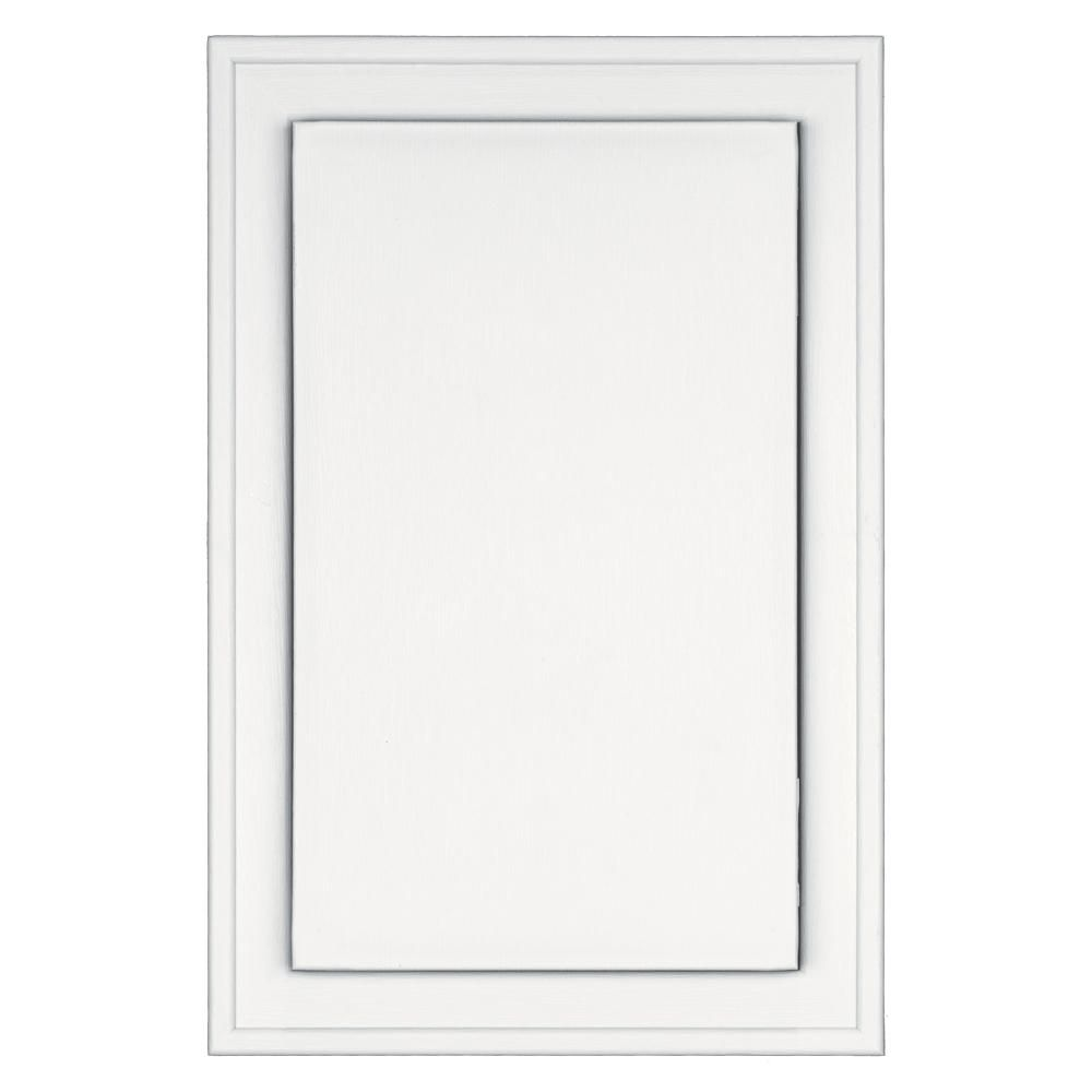 Builders Edge 8 125 In X 12 In 001 White Jumbo Mounting Block 130120001001 The Home Depot In 2020 Builders Edge Mounting Blocks Types Of Siding