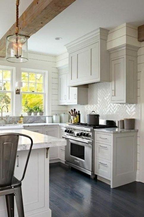 45+  Minimalist Farmhouse Decoration Ideas For Small Kitchen