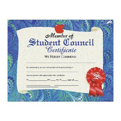 Student Council Certificate (Set of 30) \u2026 student council Stude\u2026