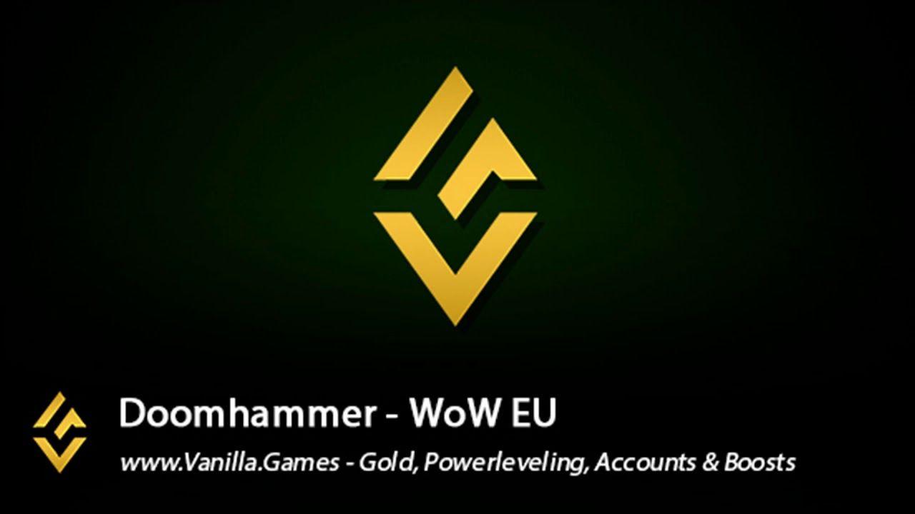 Doomhammer eu gold for alliance horde in 2020 horde