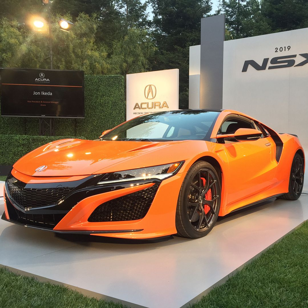 Yes, The Updated 2019 @Acura NSX Really Is This Orange. At