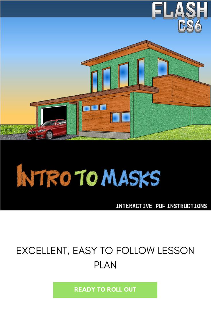 Flash CS6 - Using Layer Masks | TpT Computers | Layers