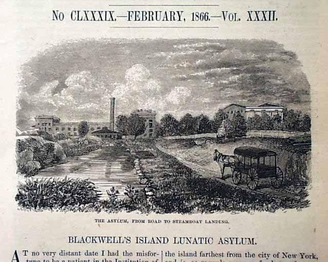 BLACKWELL ISLAND | Home > Blackwell's Island, long before ...