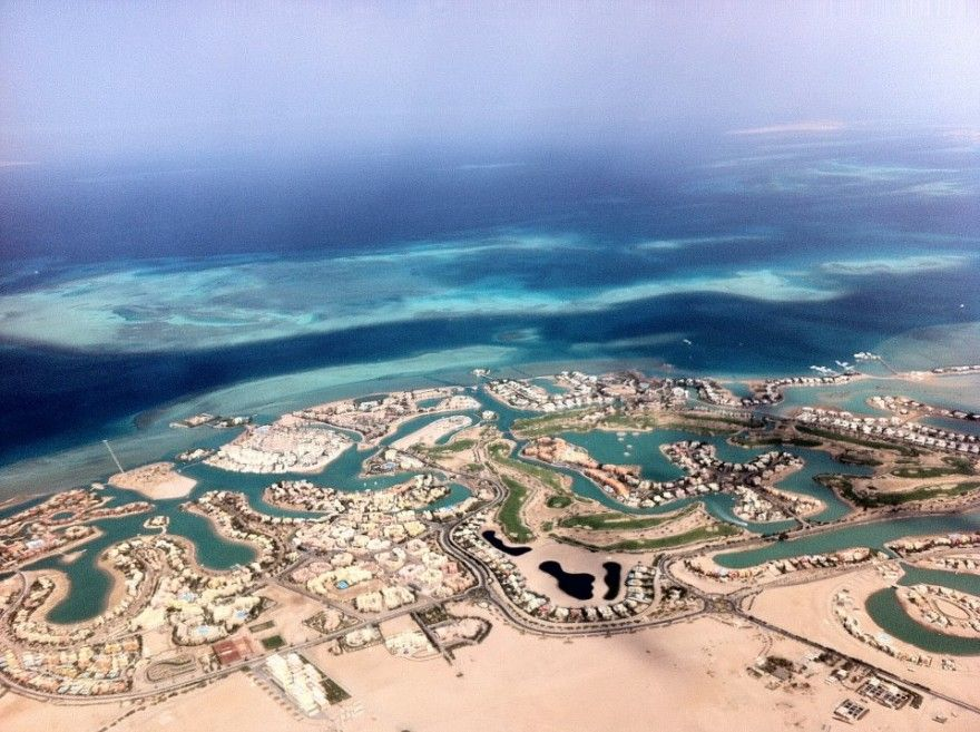 Beautiful Hurghada Egypt Bird View Earth Pictures