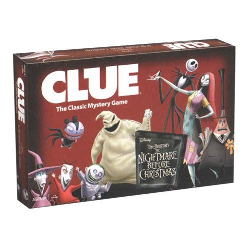 Tim Burton\u0027s The Nightmare Before Christmas Clue Tim burton, Jack