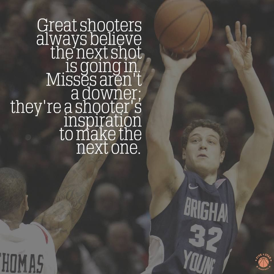 Great Shooters Basketball Quotes Inspirational Sports Quotes Basketball Basketball Quotes