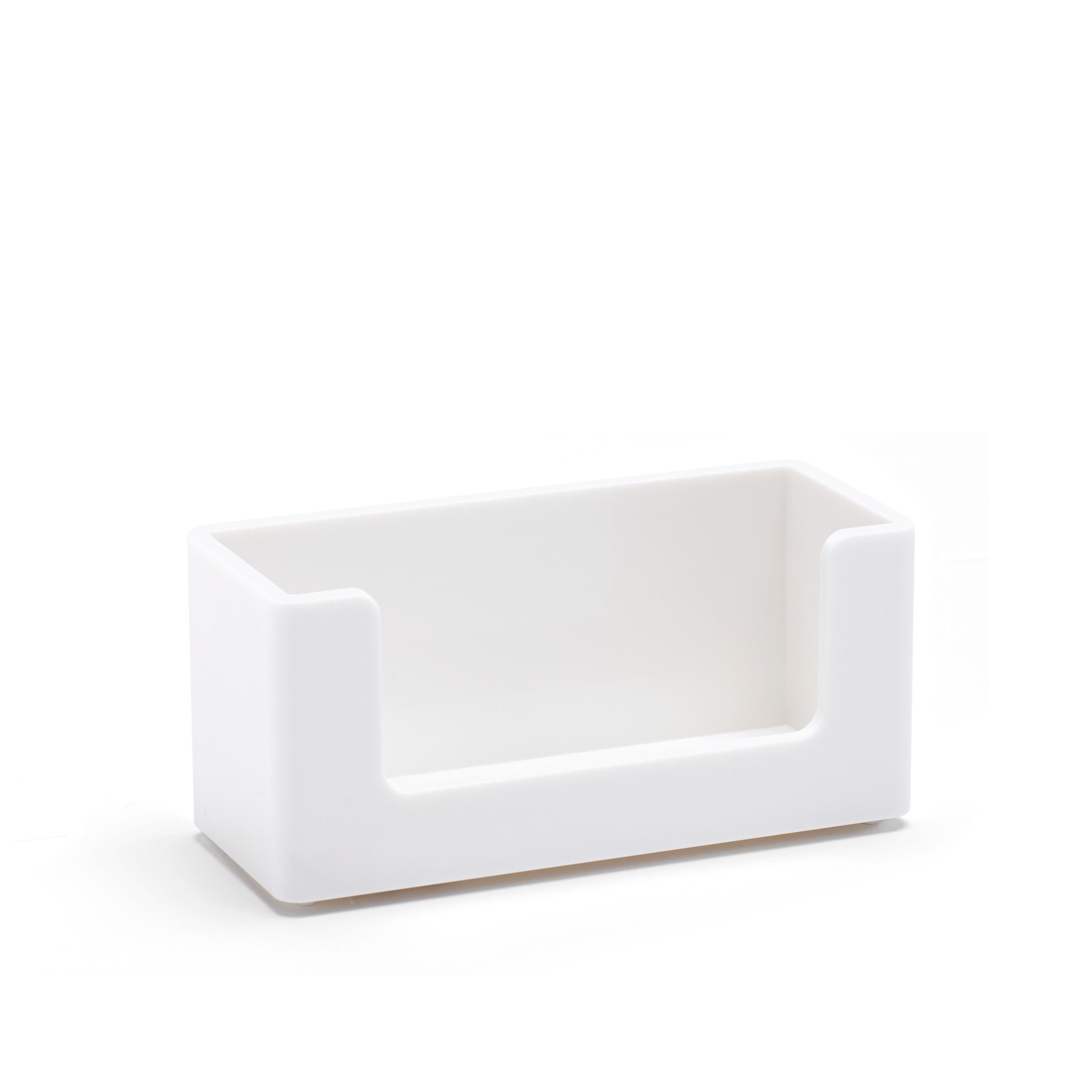 White Business Card Holder Desk Accessories Organization Poppin Business Card Holders White Business Card Card Holder Desk