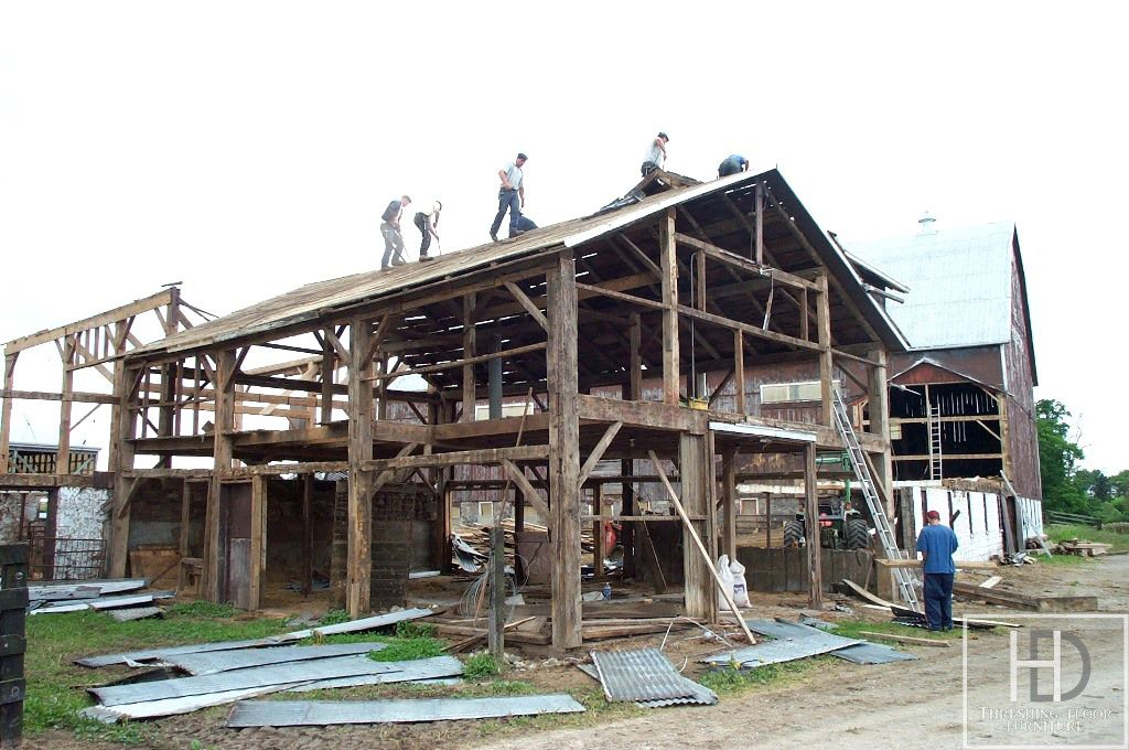 Reclaimed Barnwood Ontario The Process of Reclaiming