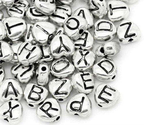 100 Pcs Heart Shape Spacer Beads Antique Silver Mixed Alphabet/ Assorted Letters Books & More 4 Less http://www.amazon.com/dp/B00I8S5K56/ref=cm_sw_r_pi_dp_wCacub1QQZ3BA