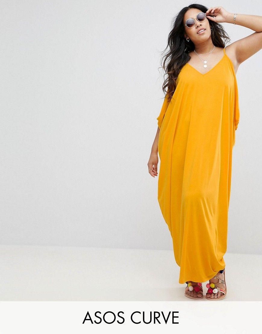 fafe22cc0a1 Plus Size Dresses for Summer - Plus Size Womens Drape Hareem Maxi Dress (full  figured)