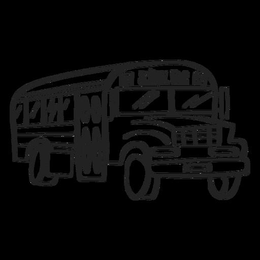 School Bus Doodle Ad Paid Sponsored Doodle Bus School School Bus Bus Drawing Bus