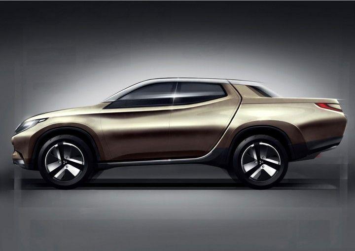 Mitsubishi Concept GR-HEV Design Sketch