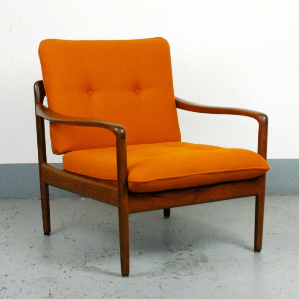 For Sale Teak Lounge Chair By Wilhelm Knoll Teak Lounge Chair Furniture Chair