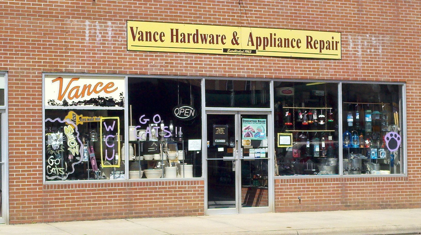 Vance Hardware Is Purple Sylva With Images Appliance Repair Sylva Photo Wall