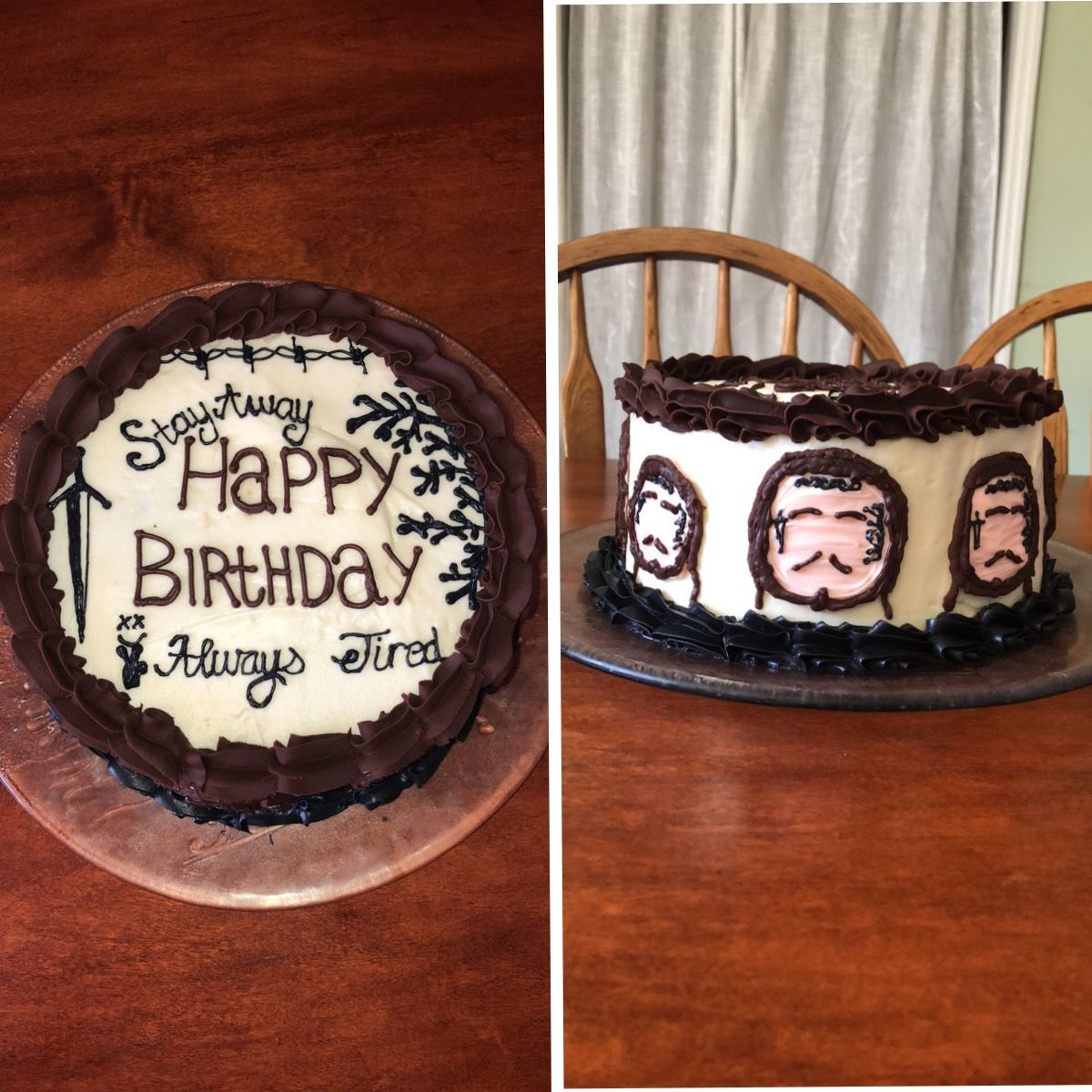 Marvelous Post Malone Birthday Cake Post Malone Quotes Cake Post Malone Personalised Birthday Cards Veneteletsinfo
