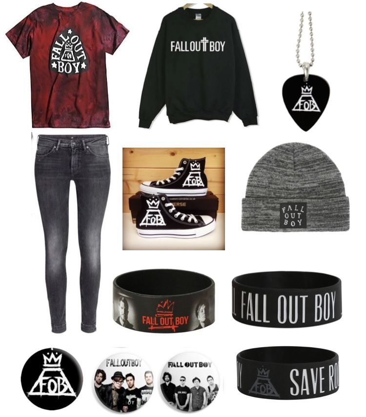 Fall Out Boy emo outfit #emooutfits