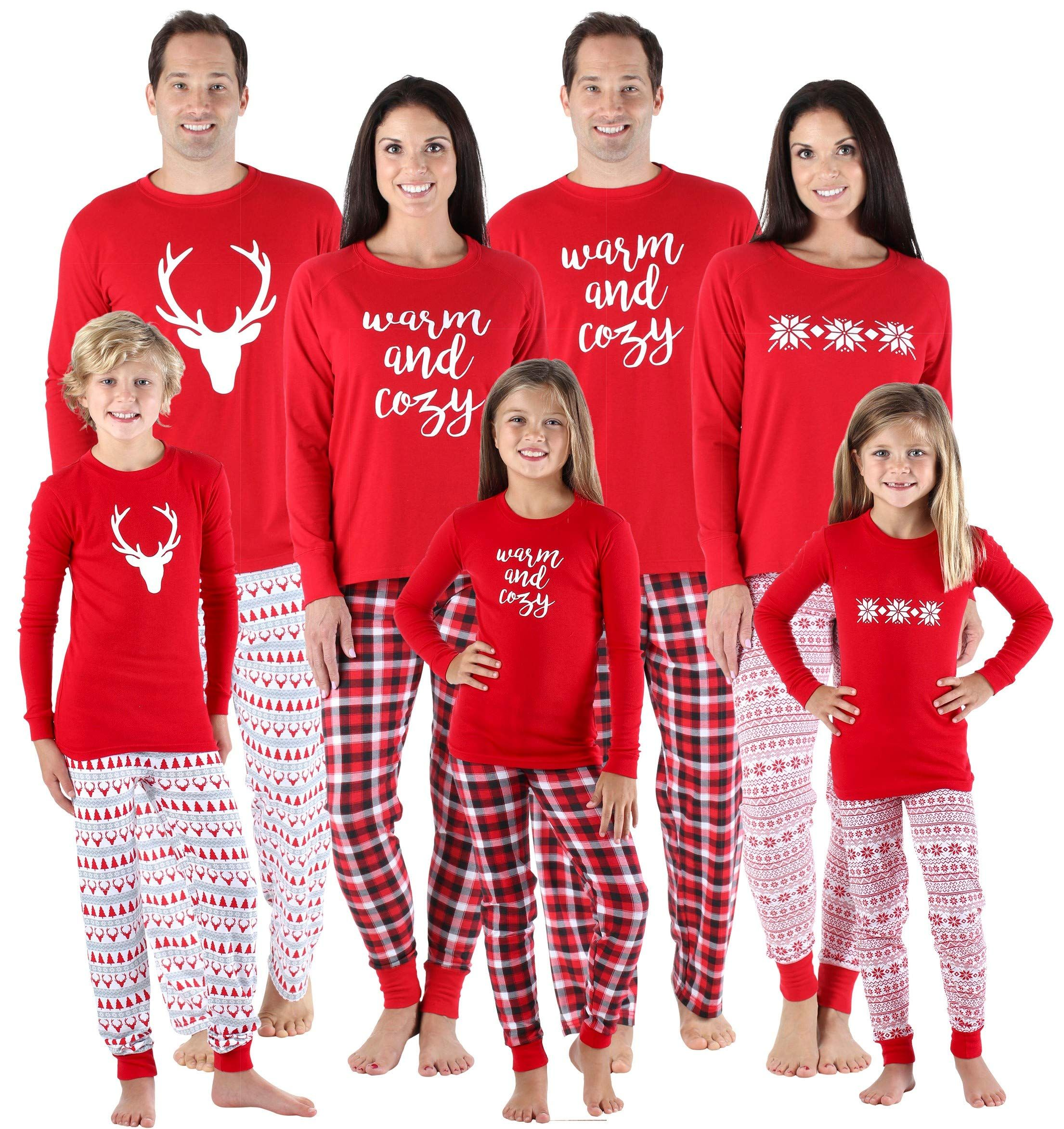 46636793dd SleepytimePjs Family Matching Sleepwear Knit Holiday Mix Match Pajamas PJs  Collection