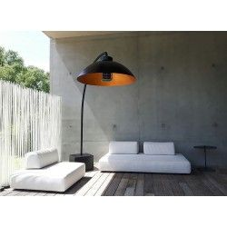 Dome Infrarot Design Terrassenheizstrahler Und Gartenleuchte Gartenmobel Design Heizstrahler Strahler