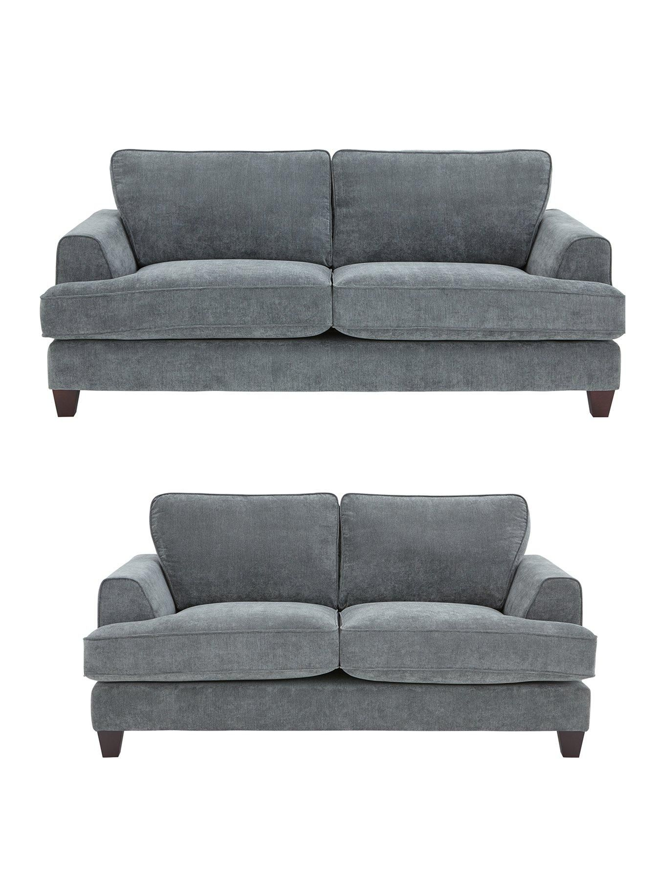 Ideal Home New Camden 3 Seater 2 Seater Fabric Sofa Set Buy And Save Very Co Uk Fabric Sofa Sofa Set Ideal Home