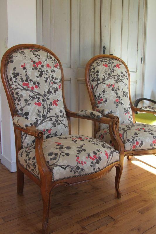 Tissus Moderne Pour Fauteuil Voltaire changer le tissu d'un fauteuil voltaire tapissier à brest