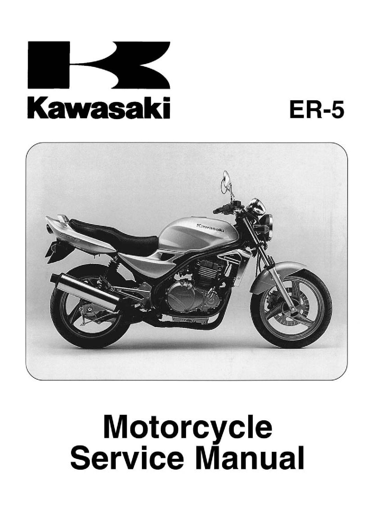 Kawasaki Er5 2004 Repair Manual Pdf Download Service Manual Repair Manual Pdf Download Repair Manuals Manual Kawasaki