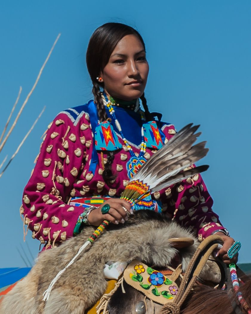 Native American Healing Herbs Plants: Native American Girls