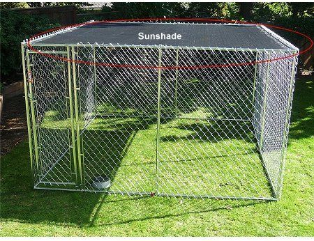 Dog Kennel Covers And Weather Protection Diy Dog Kennel Dog