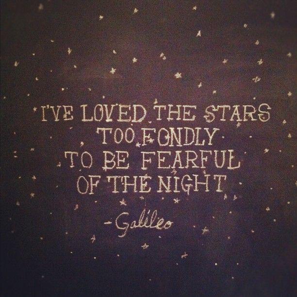 love the stars...