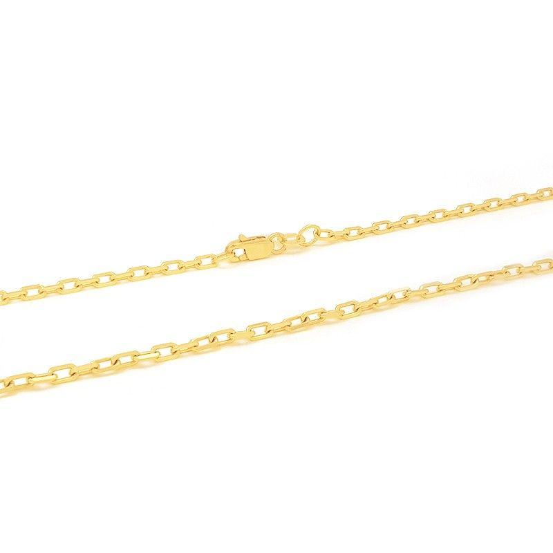 Versátil, a Corrente em Ouro 18k Groumet com Elos Redondos, é uma joia que b293ee4b51