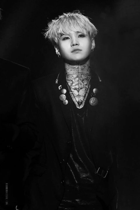 yoongi tattoo edit