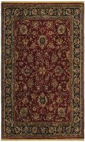 Renaissance Collection Monaco Cranberry Burgundy Traditional Floral Area Rug Floral Area Rugs Rugs Shaw Rugs