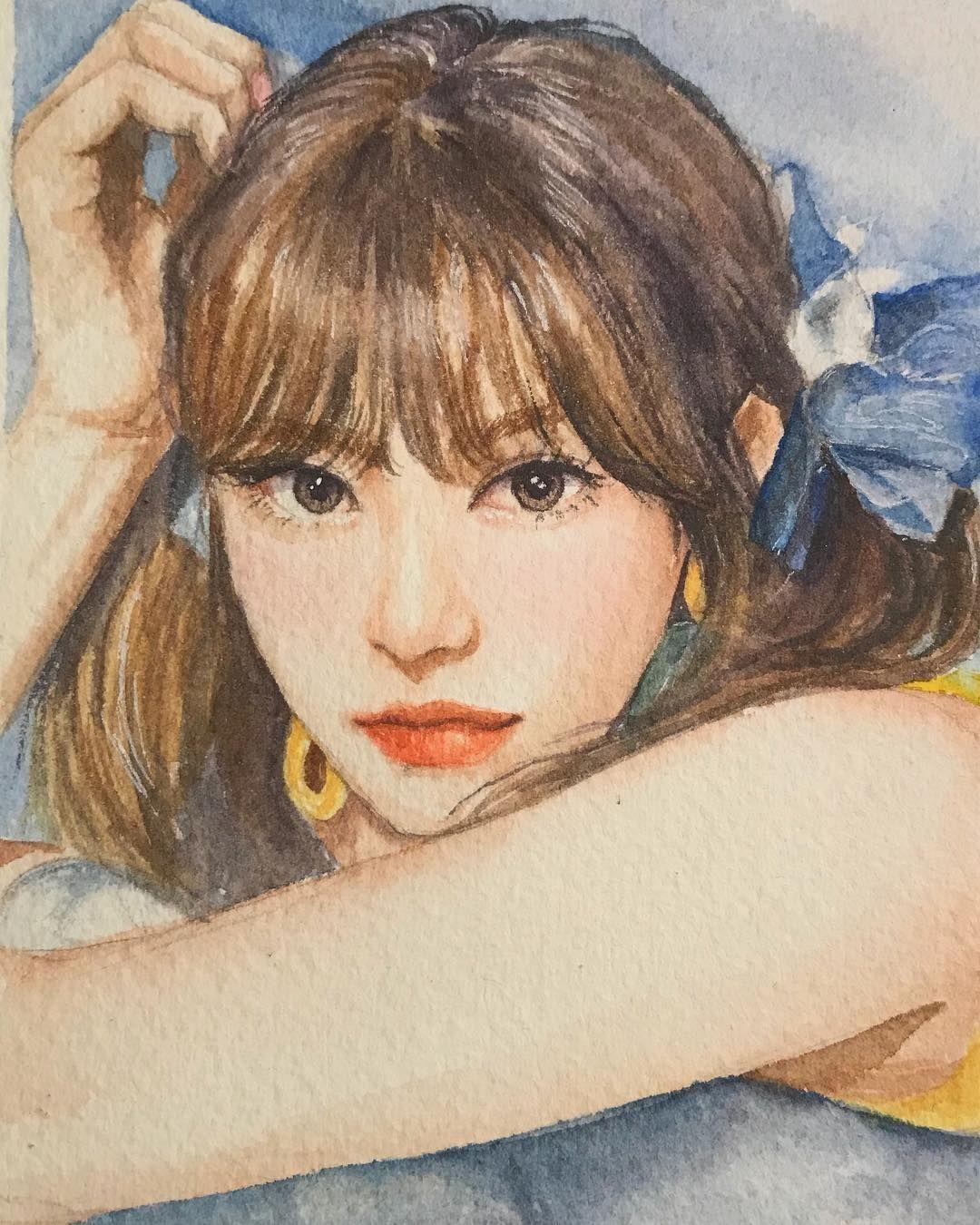 đến Cả Idol Kpop Cũng Phải Trầm Trồ Trước Tai Fan Art Của Cac Fan Wendy Vyoanh Ghim Của Vyoanh Lấy Follow Kpop Fanart Art Kpop Drawings