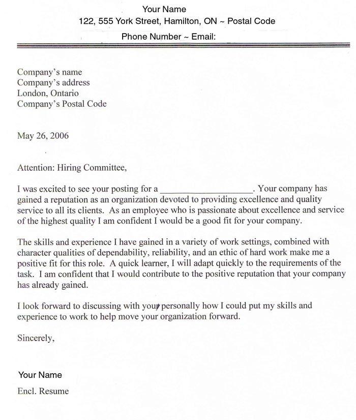 Cover Lettes Sample Cover Letter For Job Application Job Cover Letter Cover Letter For Resume Sample Resume Cover Letter