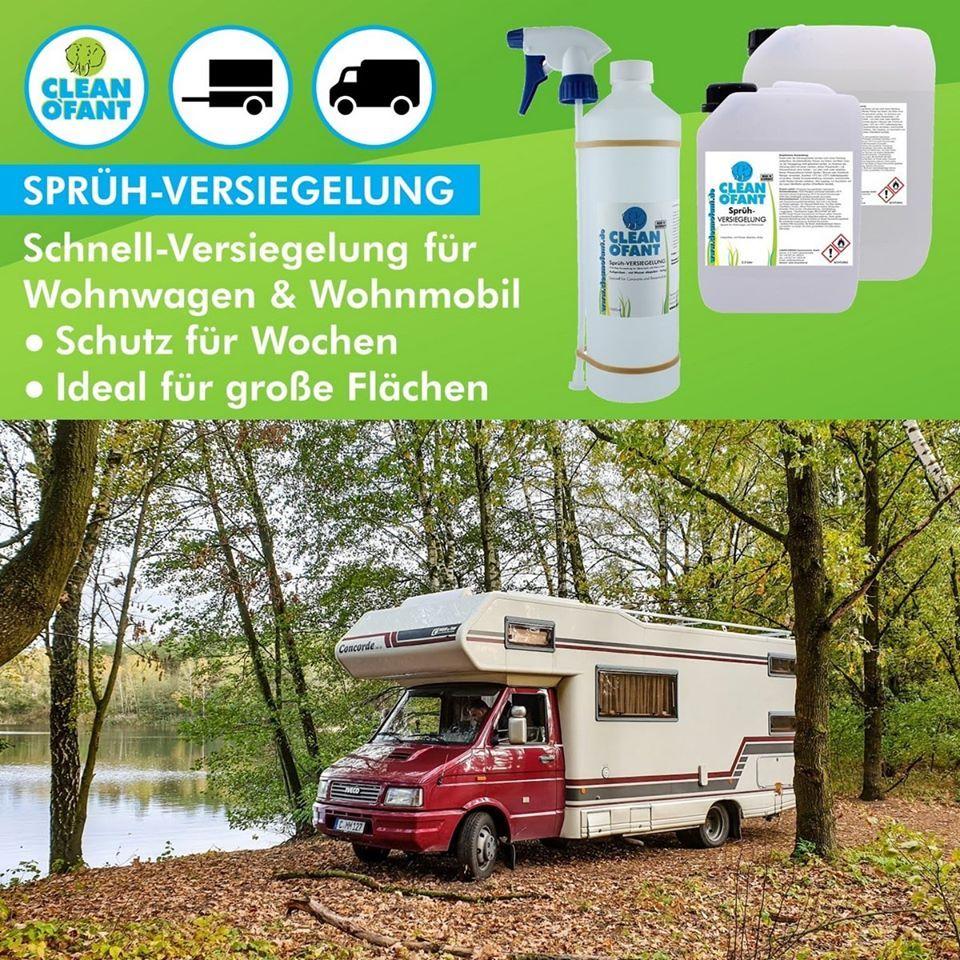 Sprüh-VERSIEGELUNG (Wohnwagen / Wohnmobil)  Wohnwagen, Wohnmobil
