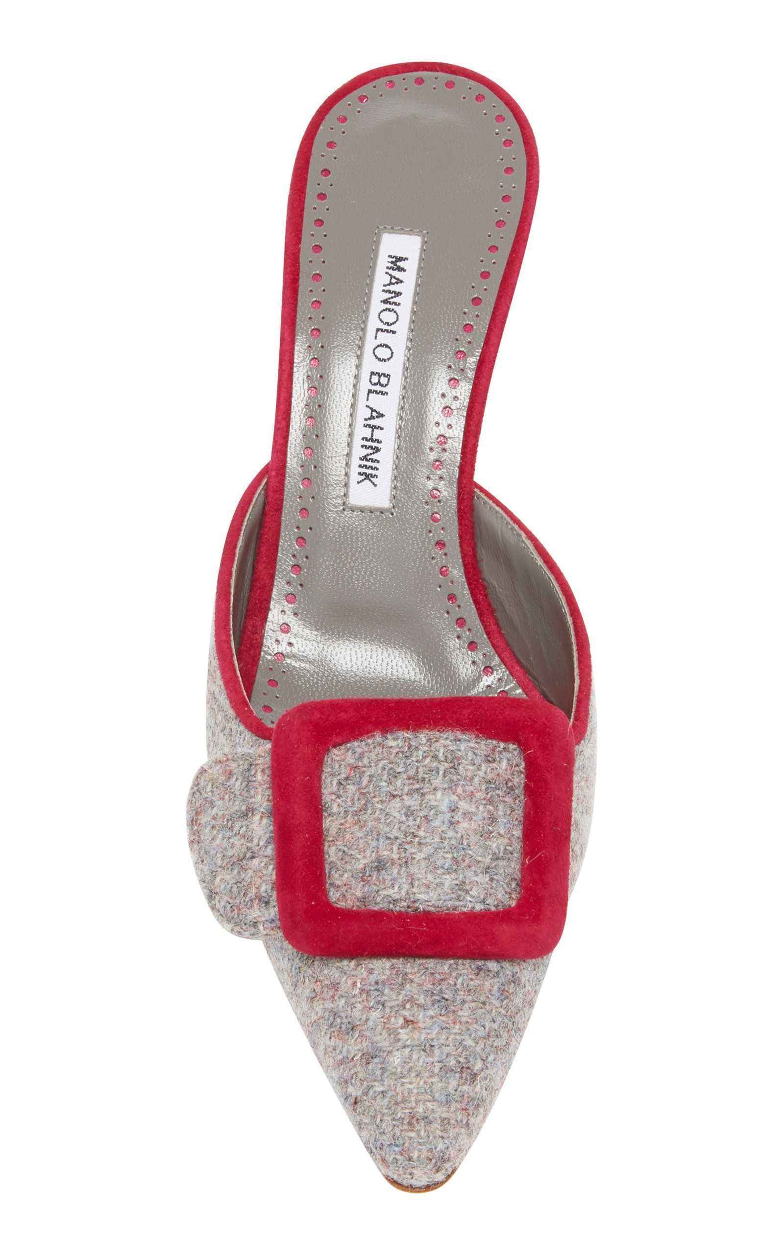 5ae3880689cf0 Manolo Blahnik Victorian Shoes, Mules Shoes, Heeled Mules, Shoes Sandals,  Sock Shoes