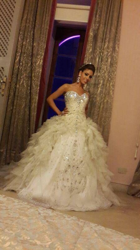 Hilda Couture Bridal Spring 2014 Collection Wedding Dress
