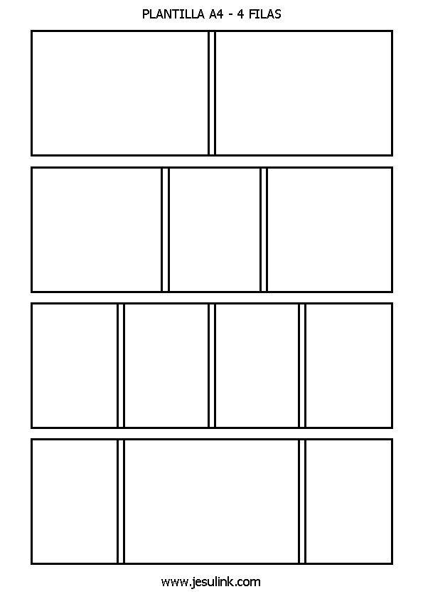 Storyboard Manga Plantilla Buscar Con Google Bricolaje Y