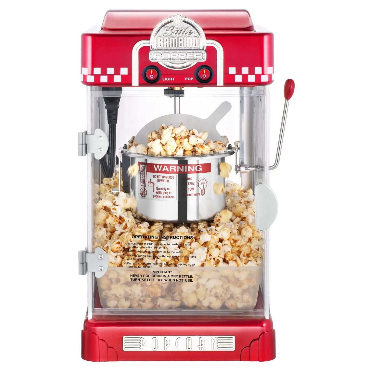 Great Northern Popcorn 2 1 2 Ounce Red Tabletop Retro Style