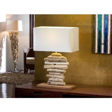 L mpara sobremesa moderna brezo en 2019 decoraci n oto al home decor decor y lighting - Muebles originales madrid ...