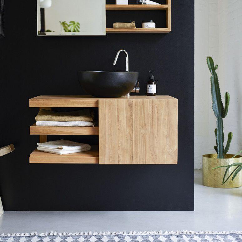 Wall Mounted Bathroom Vanity Cabinet Typo Teak Furniture Teak Furniture Bathroom Furniture Contemporary Living Room Furniture