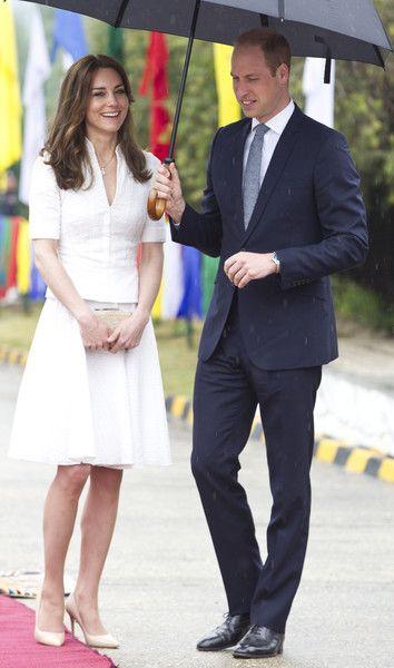 Kate wearing a bespoke McQueen