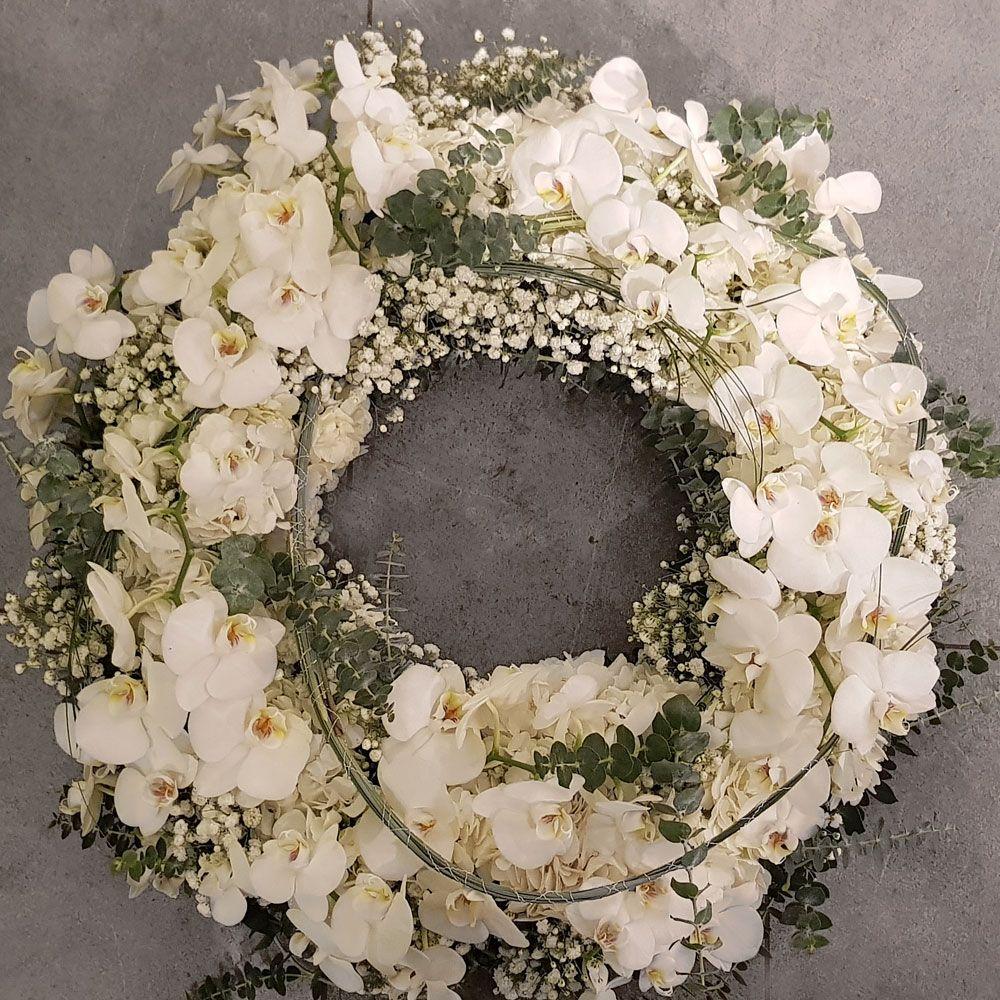Trauerfloristik Kranz Gesteck Grabschmuck Blumendekoration
