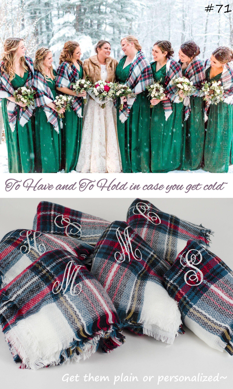 Photo of winter wedding wrap, outdoor wedding shawl, bridesmaid proposal gift, fall winter wedding favor, mountain top wedding, christmas wedding