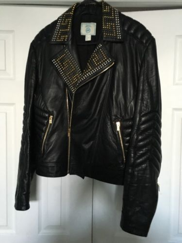 aa2373b37c22 H-M-Versace-Mens-Leather-Jacket-Size-Large