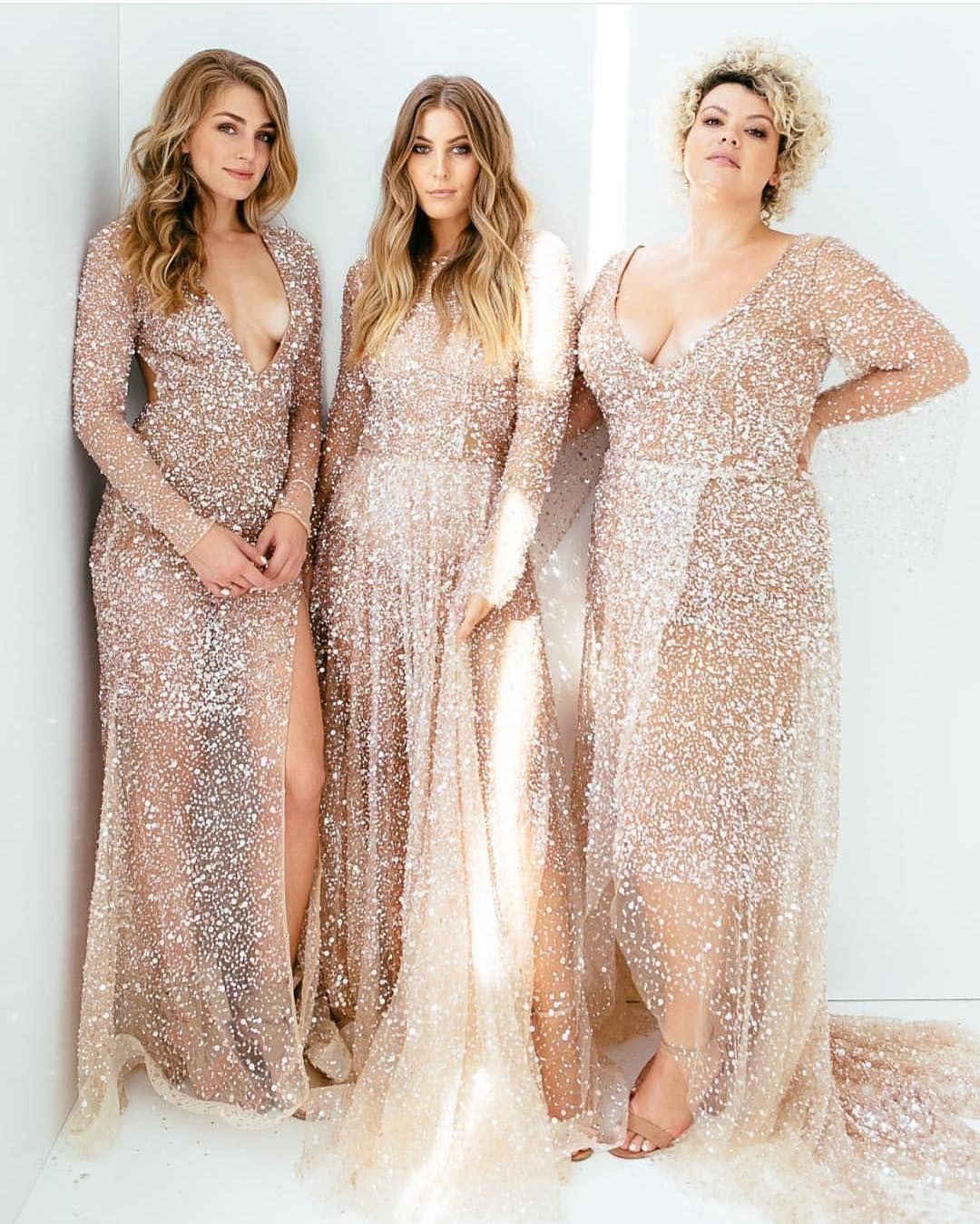 e92f3382218 Rose Gold Bridesmaid Dress  Regram via  thebridaltheory