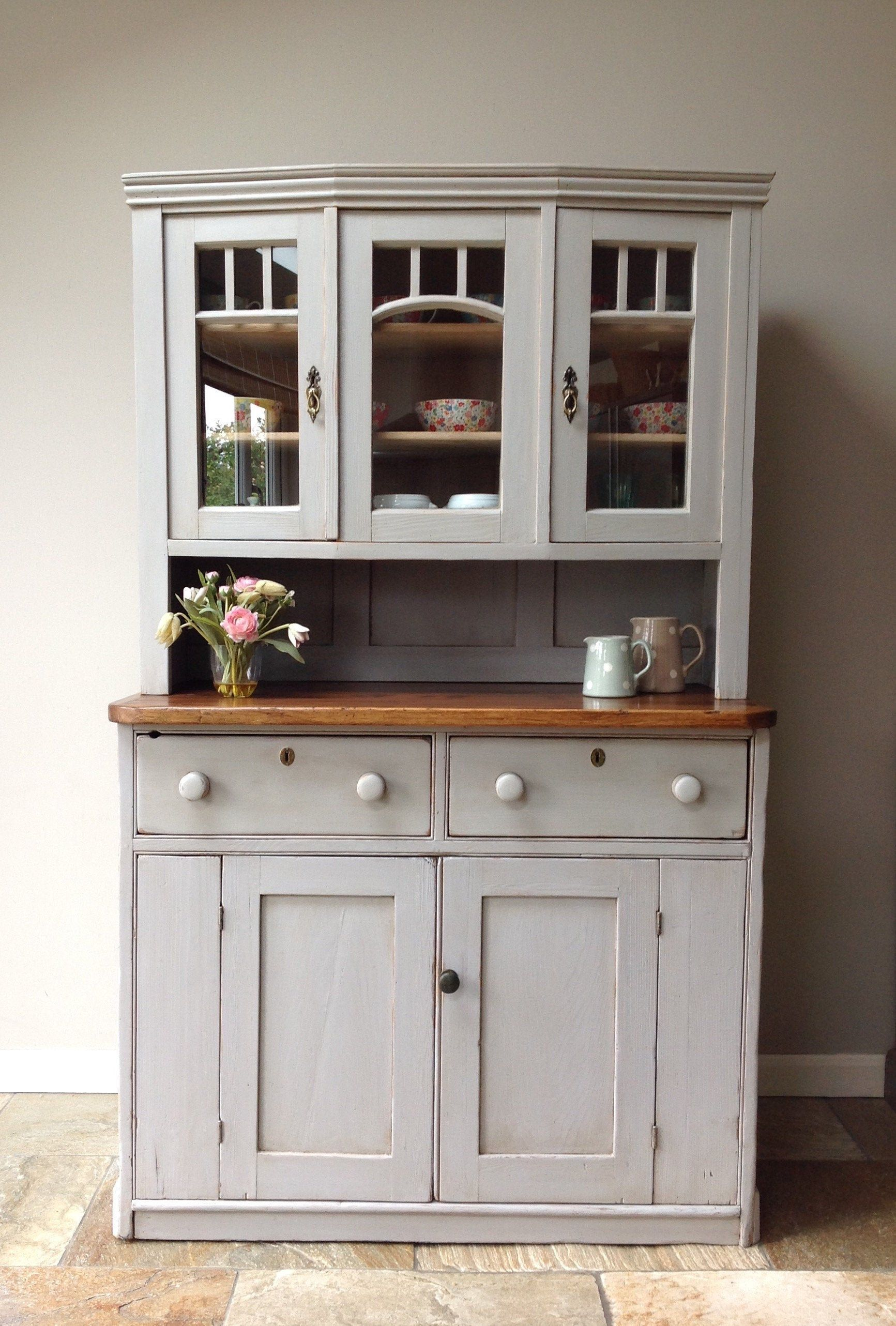 Antique Continental Gustavian Victorian Painted Pine Grey Etsy In 2020 Kitchen Units Kitchen Dresser Kitchen Cupboards