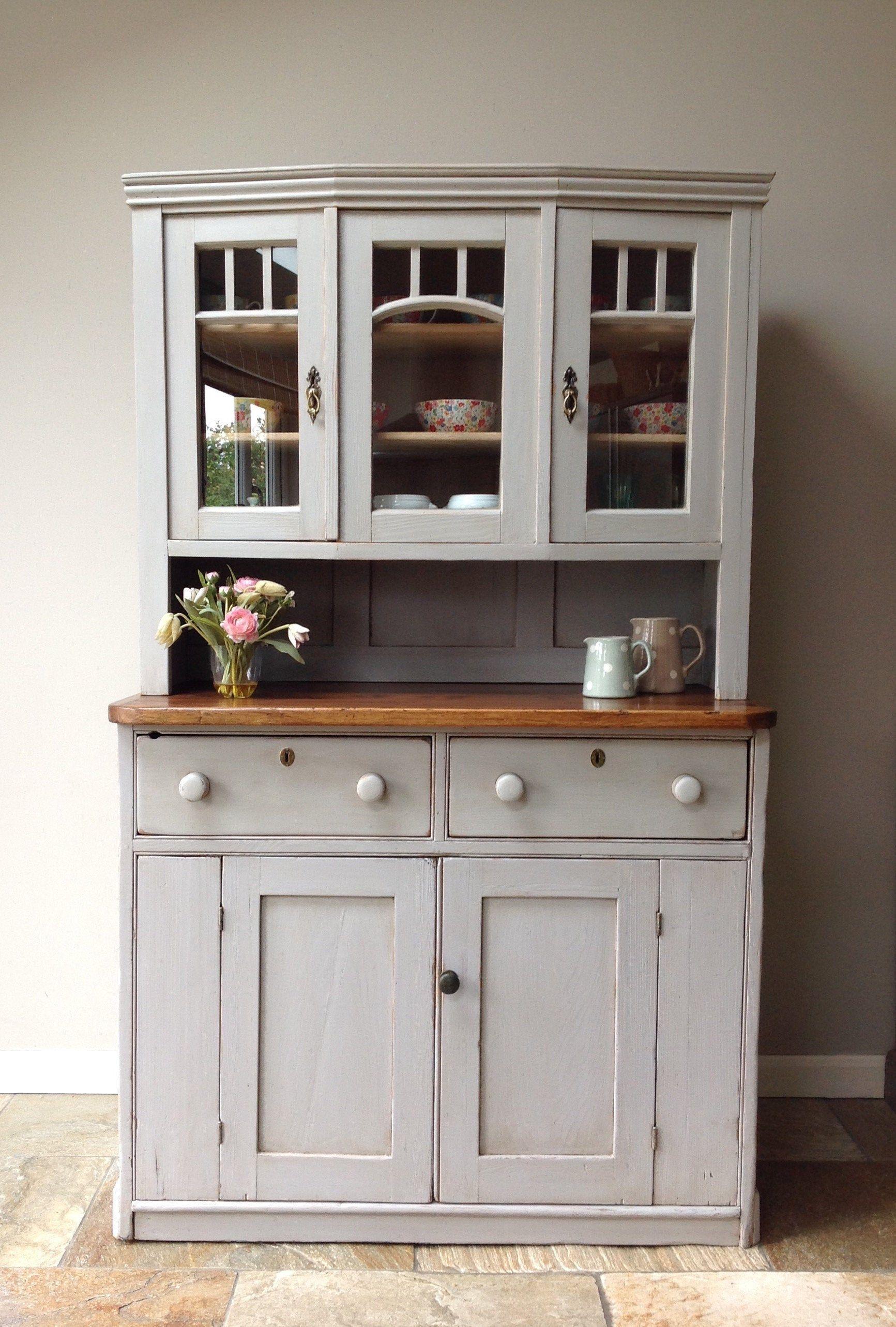 Antique Continental Gustavian Victorian Painted Pine Grey Etsy In 2020 Kitchen Units Kitchen Dresser Kitchen Cupboards